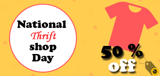 Image result for Images for National Thrift Shop Day 2019