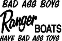 Custom Ranger Boat Decals And Ranger Boat Stickers Any Size Color