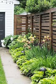Marvelous Backyard Privacy Fence Decor Ideas On A Budget 13 Privacy Fence Landscaping Cheap Landscaping Ideas Small Front Yard Landscaping