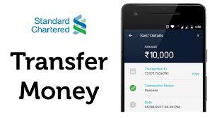 standard chartered bank money transfer