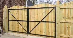 Wrought Iron Double Gate Walk Thru Lowes Google Search Backyard Gates Wooden Fence Gate Wooden Gates
