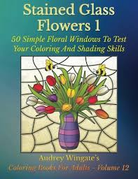 stained glass flowers 1 50 simple
