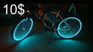 bike wheel lights hack simple diy