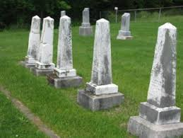 BOURBON CEMETERY burials in Douglas County, Illinois