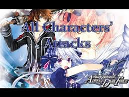 All Characters Skills Fairize Magic Attacks Compilation Fairy Fencer F Advent Dark Force En Youtube