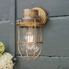 Outdoor Lighting Garden Wall Lights Hand Finished In Uk Jim Lawrence