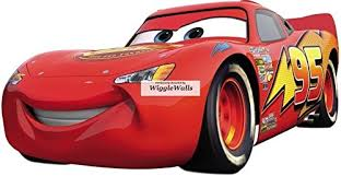 11 Inch Lightning Mcqueen Wall Decal Sti Buy Online In Isle Of Man At Desertcart