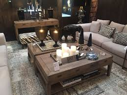 how to decorate a coffee table without