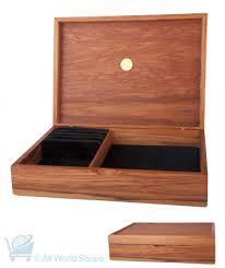 jewellery box hinged black rimu