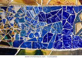 broken glass mosaic tile decoration