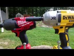 Milwaukee 18v Fuel 2763 20 Vs Dewalt 20v Xr Impact Wrench Dcf899b Lag Bolt Face Off In 4k Youtube Impact Wrench Lag Bolts Dewalt