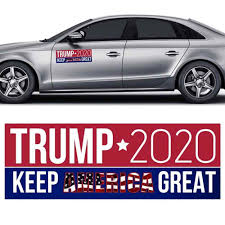 10pcs Donald Trump For President 2020 Bumper Car Stickers Keep Make America Great Decals Auto Motorcycle Car Styling Stickers Car Stickers Aliexpress