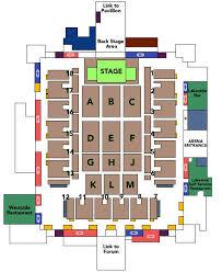 nec arena birmingham seating plan