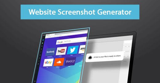 Image result for website screenshot generator""