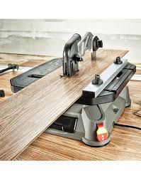 Portable Tabletop Saw With Steel Rip Fence Miter Gauge