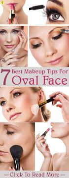 makeup tips for round face you