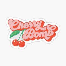 Cherry Stickers Redbubble