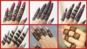 party wear mehndi design simple new style