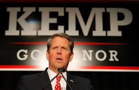 Georgia Governor Brian Kemp ...