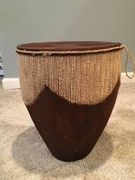 african goat skin djembe bongo drum