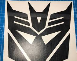 Decepticon Decal Etsy