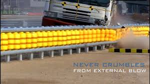 Eti Roller System Road Safety Barrier Safe Roads Youtube
