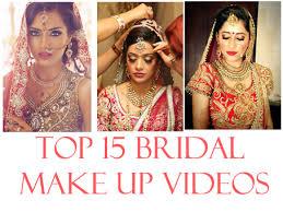indian bridal makeup videos and tutorials