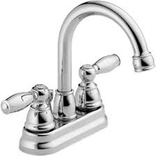 2 handle centerset bathroom faucet