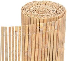 Fb Funkybuys Bamboo Slat Fence Screen Roll Screening Fencing Privacy Panel Shield Garden Natural Wind Sun Border Protection Outdoor Garden Bamboo Fence Screen Amazon Co Uk Garden Outdoors