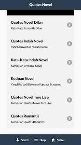 quotes novel terlengkap for android apk