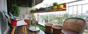 simple balcony garden design ideas for