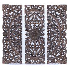 carved wood wall for oriental