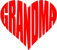 Amazon Com Lu Coco Creations Grandma Heart Decal Sticker 5 0 Color Red Cute For Windows Cars Trucks Laptops And More Automotive