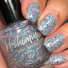 kbshimmer hexy glitter nail polish