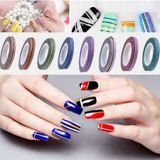 self adhesive manicure tips diy beauty