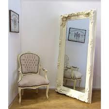 large ornate frame mirror decorating