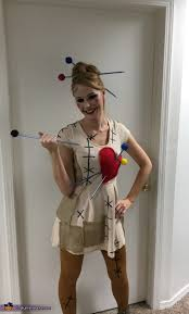 voodoo dolls costume homemade easy