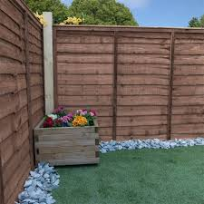 Adley 4 X 6 Pressure Treated Lap Fence Panel