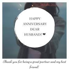 marriage anniversary status for husband in english