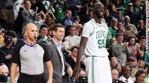 Tacko Fall finally gets on the Celtics' court -- after coach Brad Stevens  makes the crowd work for it - CNN