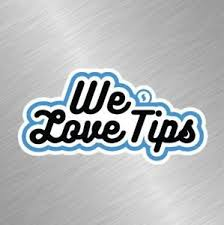 We Love Tips Vinyl Decal Sticker Uber Lyft Business Car Taxi Sign Waitress Blue Ebay