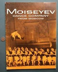 RARE 1958-59 Russian Moiseyev Ballet Dance Company from Moscow ...