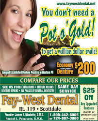 SUNDAY, MARCH 17, 2019 Ad - Fay-West Dental - The Dominion Post