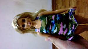 Mở hộp Barbie Fashionista Urban Camo - YouTube