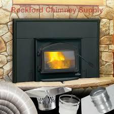pellet wood burning stove fireplace