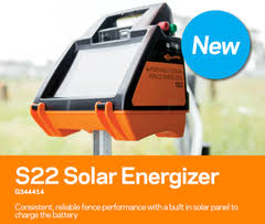 Gallagher S22 Solar Electric Fence Charger Energizer Solar Electric Fence Electric Fence Energizer Fence Charger