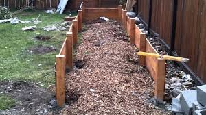 Building A Raised Garden Bed Part 1 Youtube