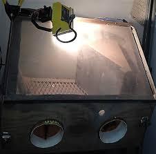 5 ways to light up sandblast cabinets