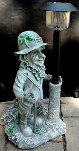 irish garden statue leprechaun