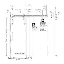 door frame size latur info